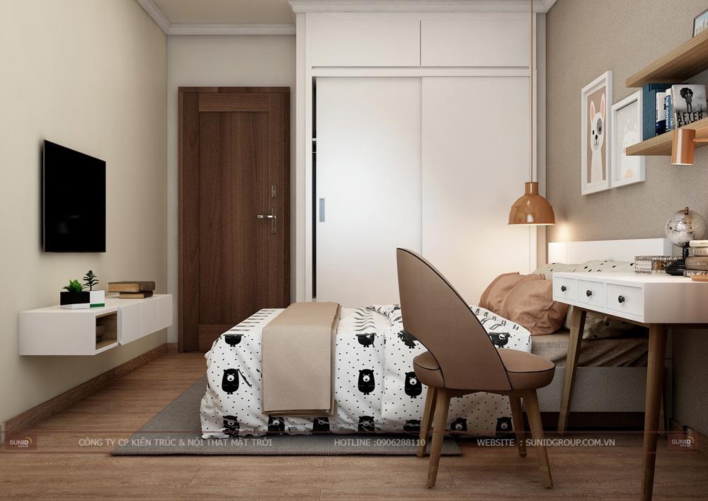 thiết kế nội thất chung cư 70m2 đẹp tại hà nội 16