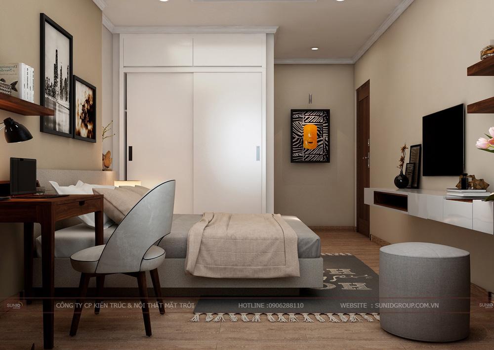thiết kế nội thất chung cư 70m2 đẹp tại hà nội 18
