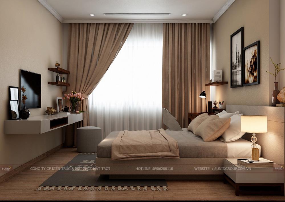 thiết kế nội thất chung cư 70m2 đẹp tại hà nội 19