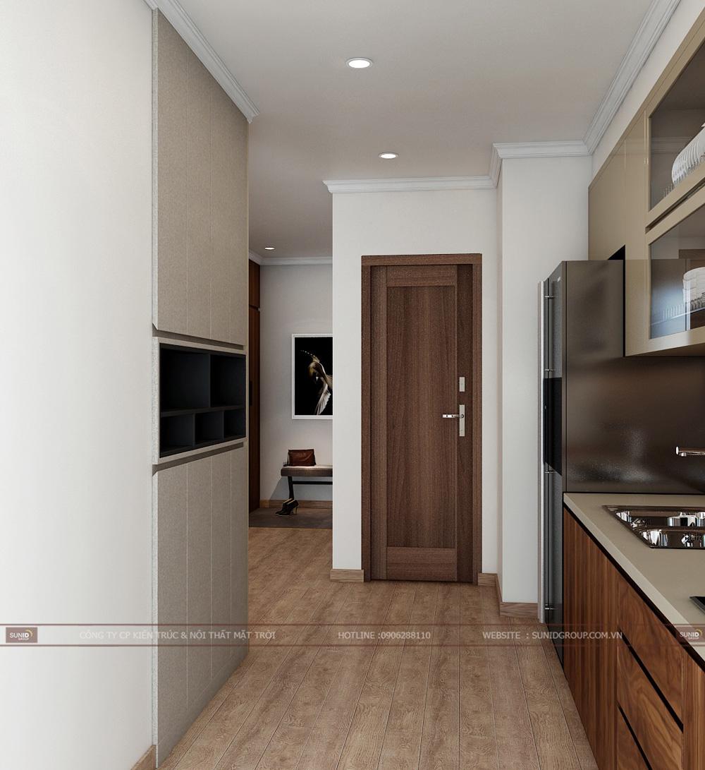 thiết kế nội thất chung cư 70m2 đẹp tại hà nội 6