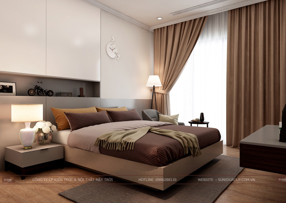 thiết kế nội thất chung cư 70m2 đẹp tại hà nội 7