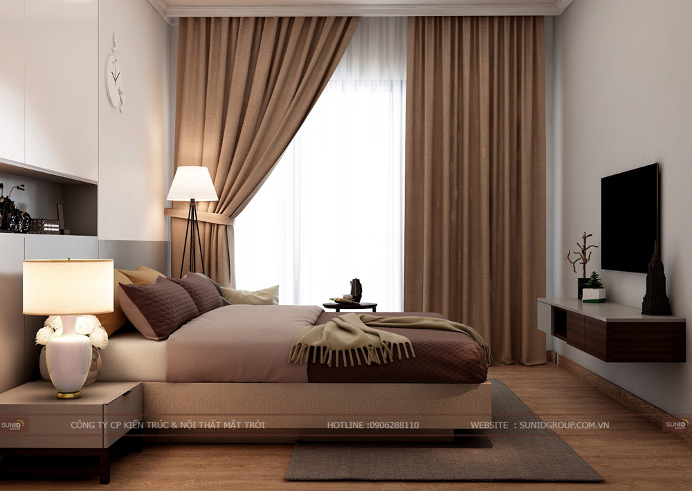 thiết kế nội thất chung cư 70m2 đẹp tại hà nội 9
