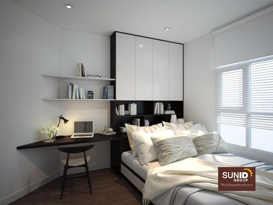 thiết kế nội thất chung cư 85m2 ảnh 12