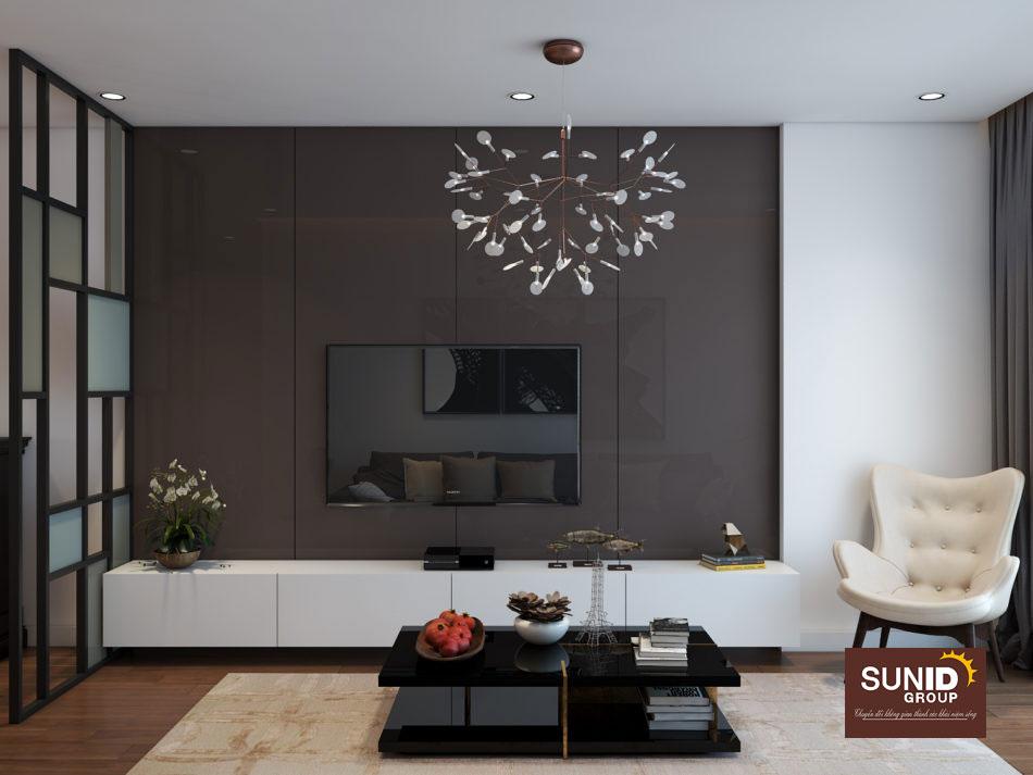 thiết kế nội thất chung cư 85m2 ảnh 2