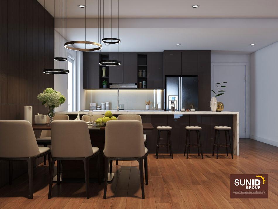 thiết kế nội thất chung cư 85m2 ảnh 5