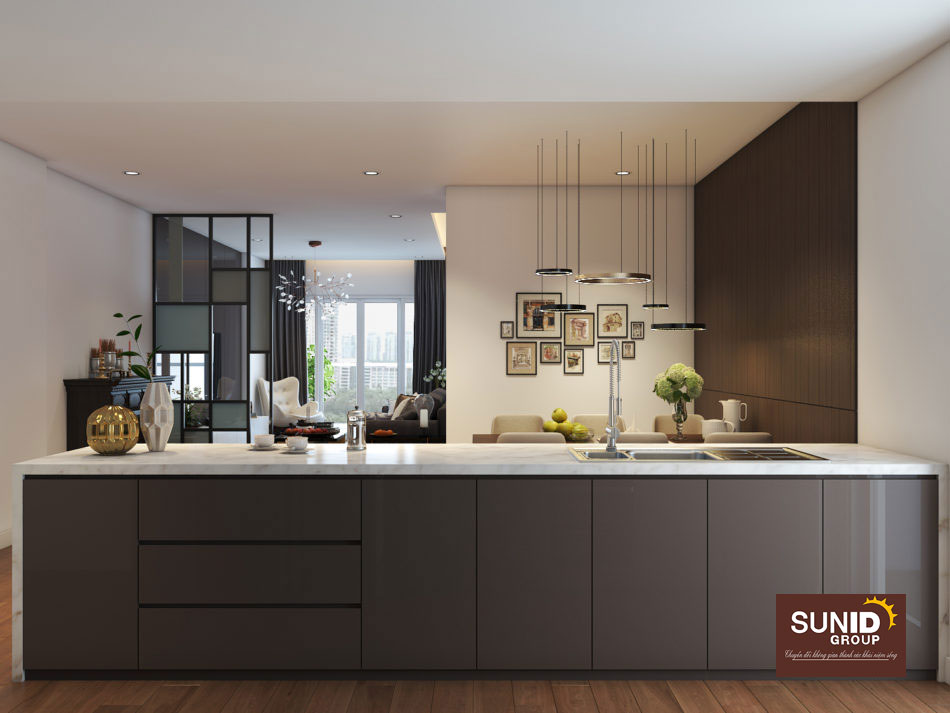thiết kế nội thất chung cư 85m2 ảnh 7