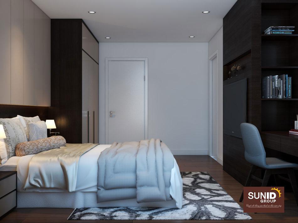 thiết kế nội thất chung cư 85m2 ảnh 9