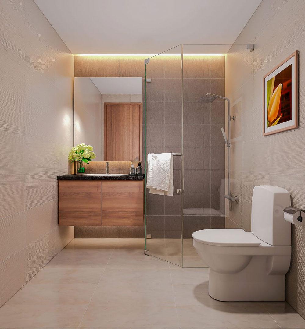 thiết kế nội thất chung cư 86m2 hai phòng ngủ ảnh 1