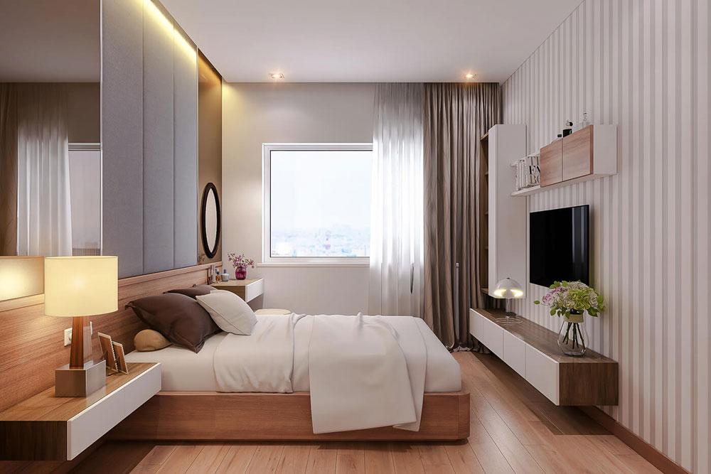 thiết kế nội thất chung cư 86m2 hai phòng ngủ ảnh 5