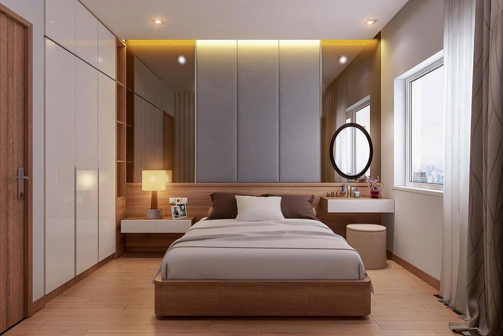 thiết kế nội thất chung cư 86m2 hai phòng ngủ ảnh 6