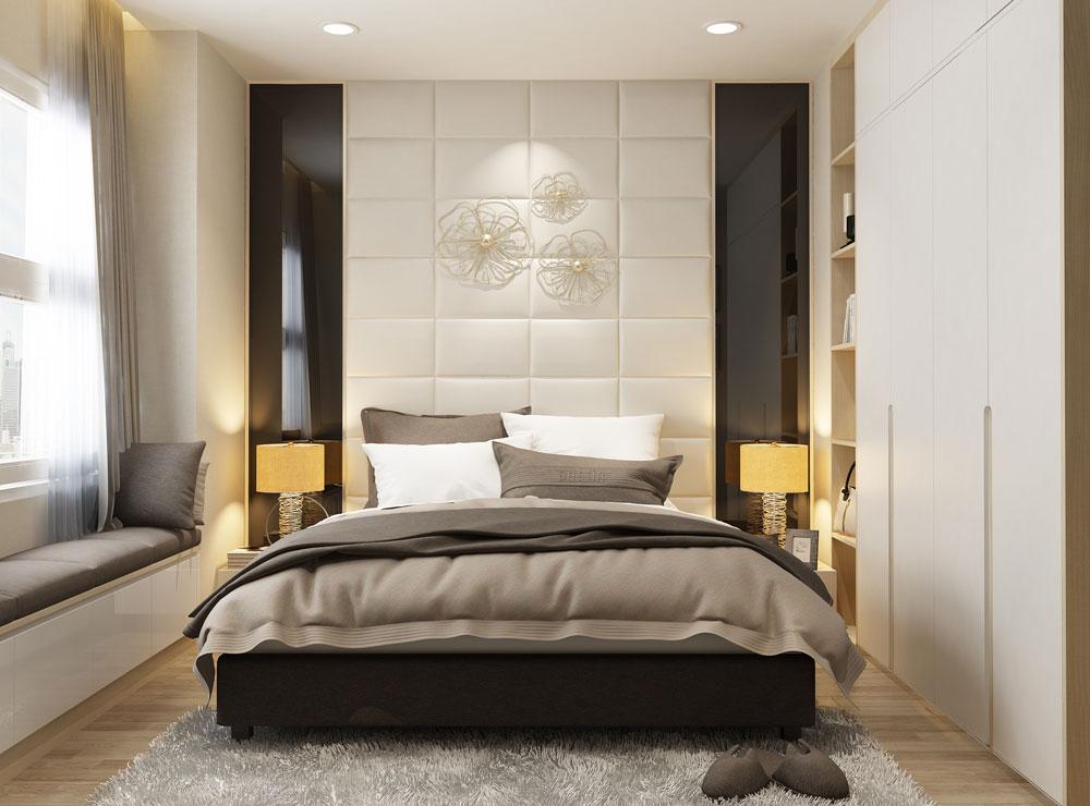 thiết kế nội thất chung cư tone màu trắng ảnh 5