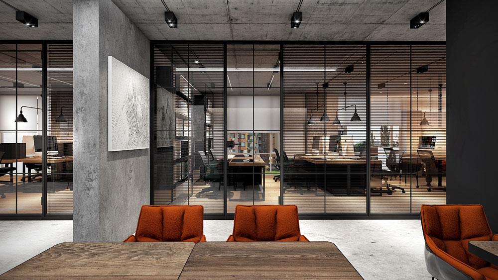 thiết kế nội thất văn phòng 200m2 ảnh 1