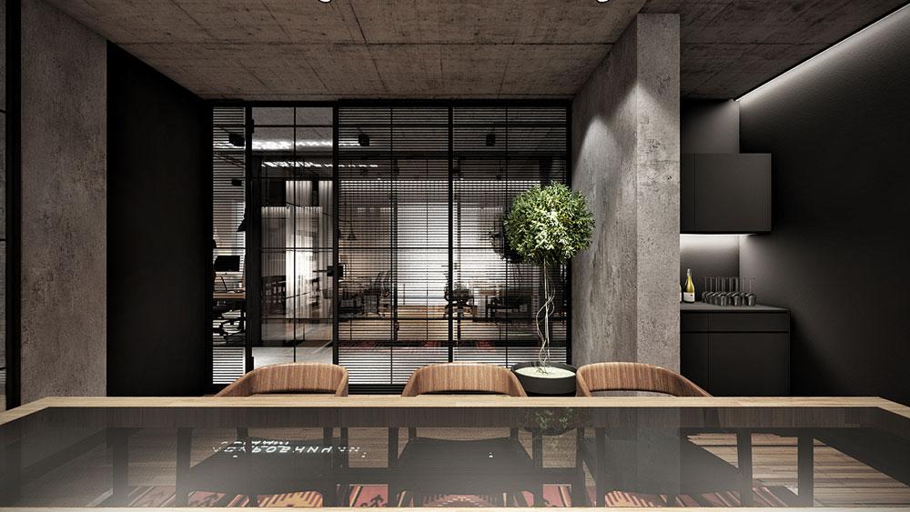 thiết kế nội thất văn phòng 200m2 ảnh 10