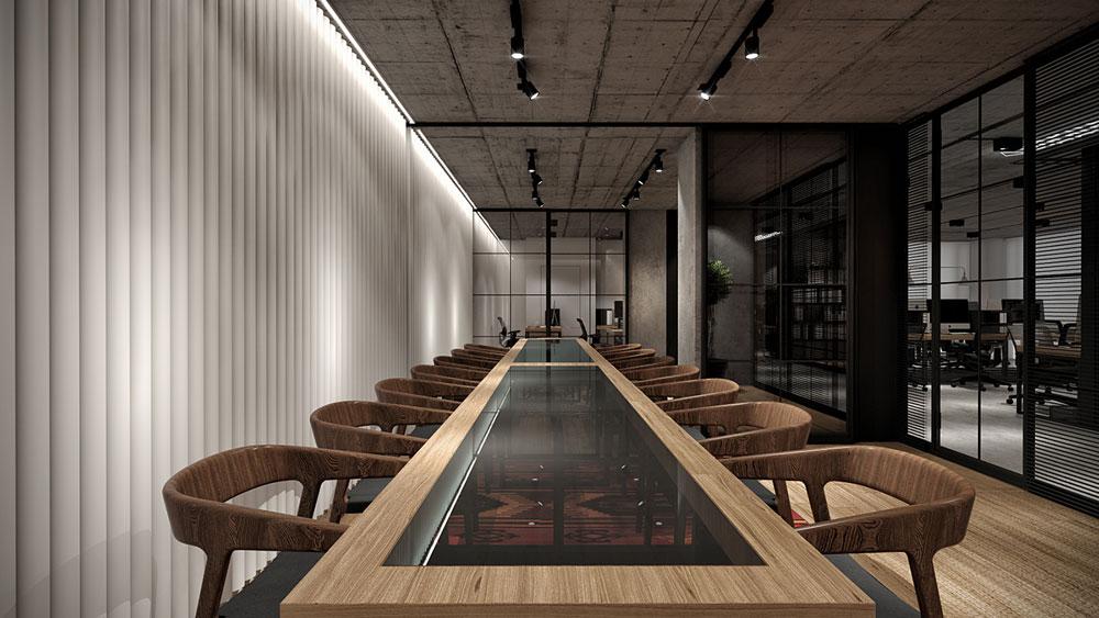 thiết kế nội thất văn phòng 200m2 ảnh 12