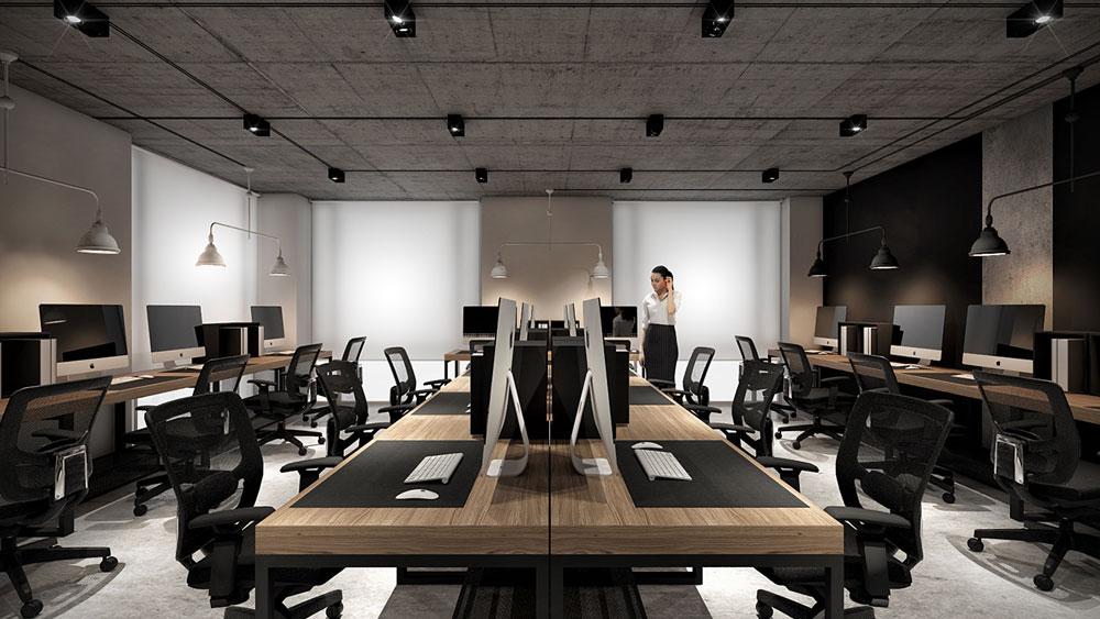 thiết kế nội thất văn phòng 200m2 ảnh 13