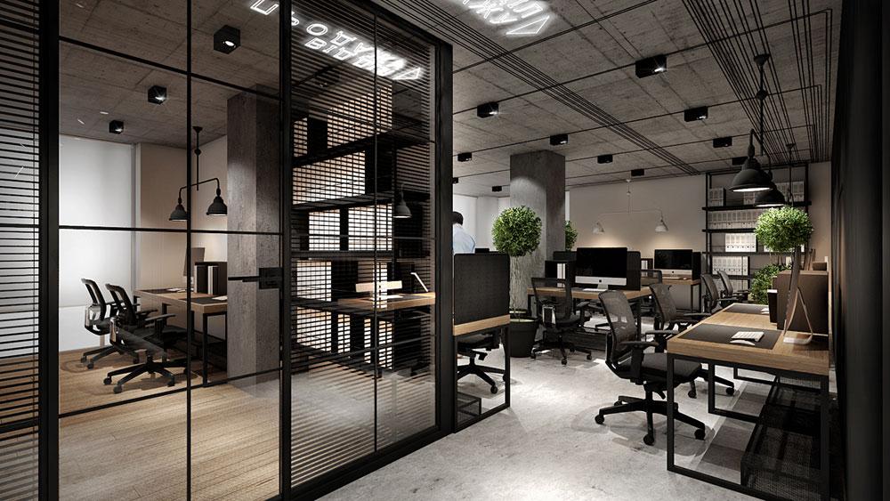 thiết kế nội thất văn phòng 200m2 ảnh 14