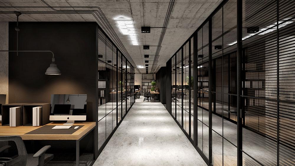 thiết kế nội thất văn phòng 200m2 ảnh 4