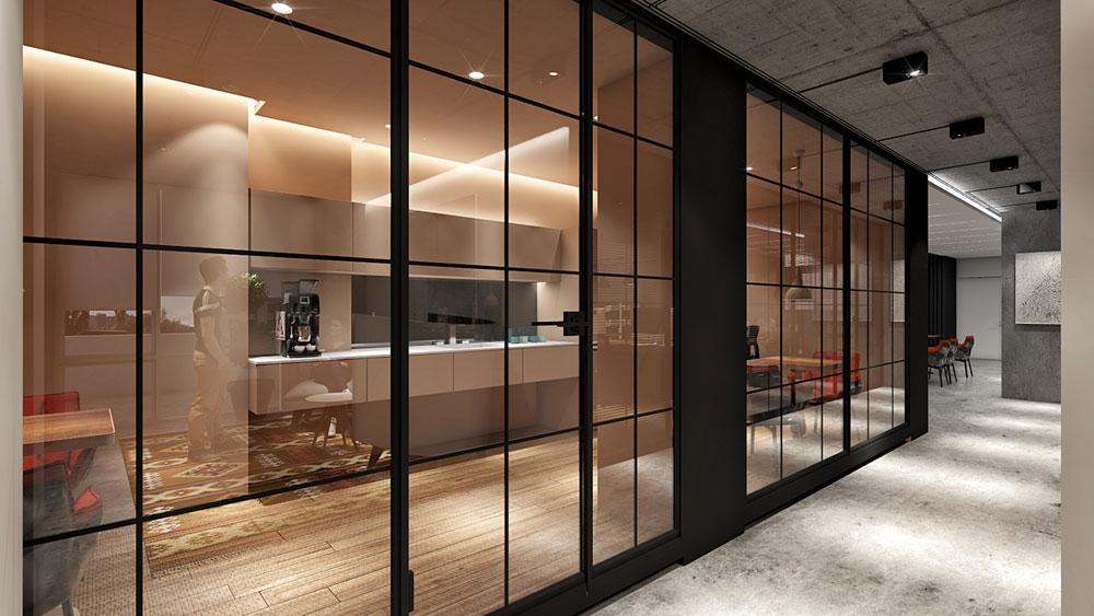 thiết kế nội thất văn phòng 200m2 ảnh 5