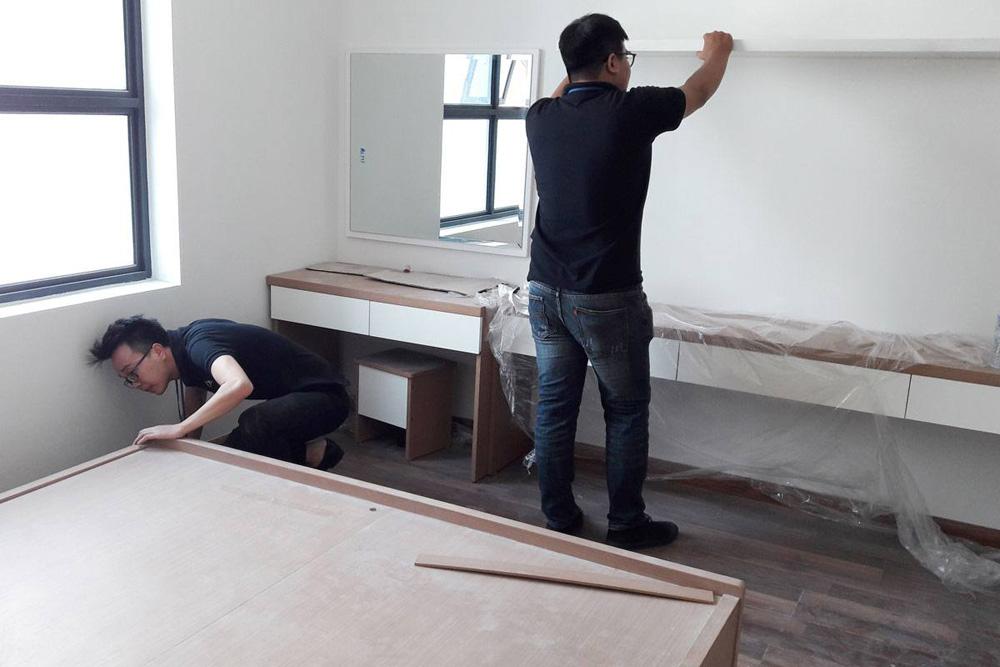 lắp đặt nội thất chung cư thanh hà 3