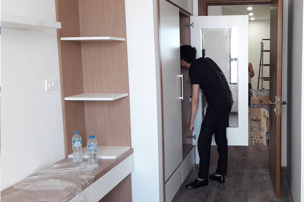 lắp đặt nội thất chung cư thanh hà 4