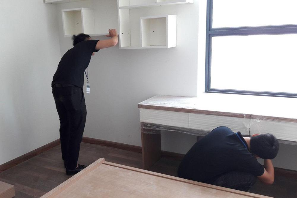 lắp đặt nội thất chung cư thanh hà 8