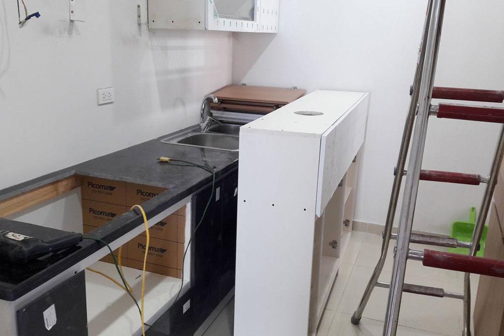 lắp đặt nội thất chung cư thanh hà 9