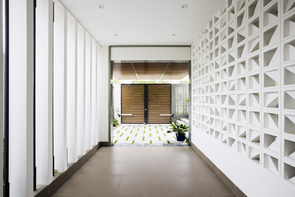 thiết kế biệt thự phố hiện đại tại hà nội 5