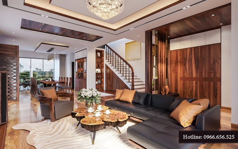 Thiết kế nội thất biệt thự liền kề cao cấp ảnh 1