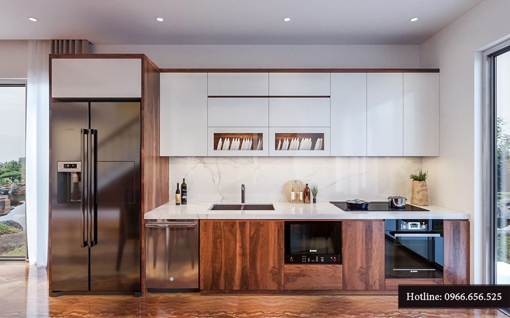 Thiết kế nội thất biệt thự liền kề cao cấp ảnh 10