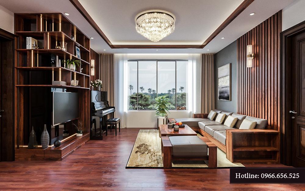 Thiết kế nội thất biệt thự liền kề cao cấp ảnh 11