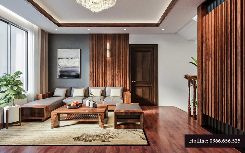 Thiết kế nội thất biệt thự liền kề cao cấp ảnh 13