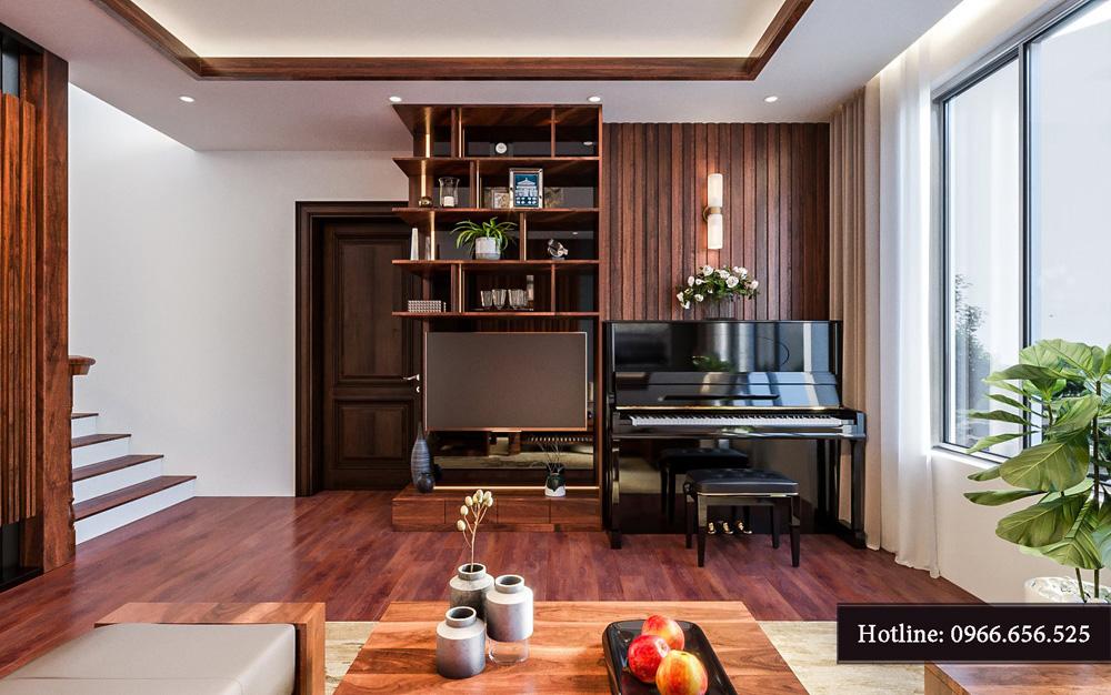 Thiết kế nội thất biệt thự liền kề cao cấp ảnh 14