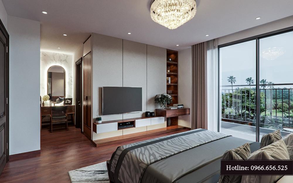 Thiết kế nội thất biệt thự liền kề cao cấp ảnh 16