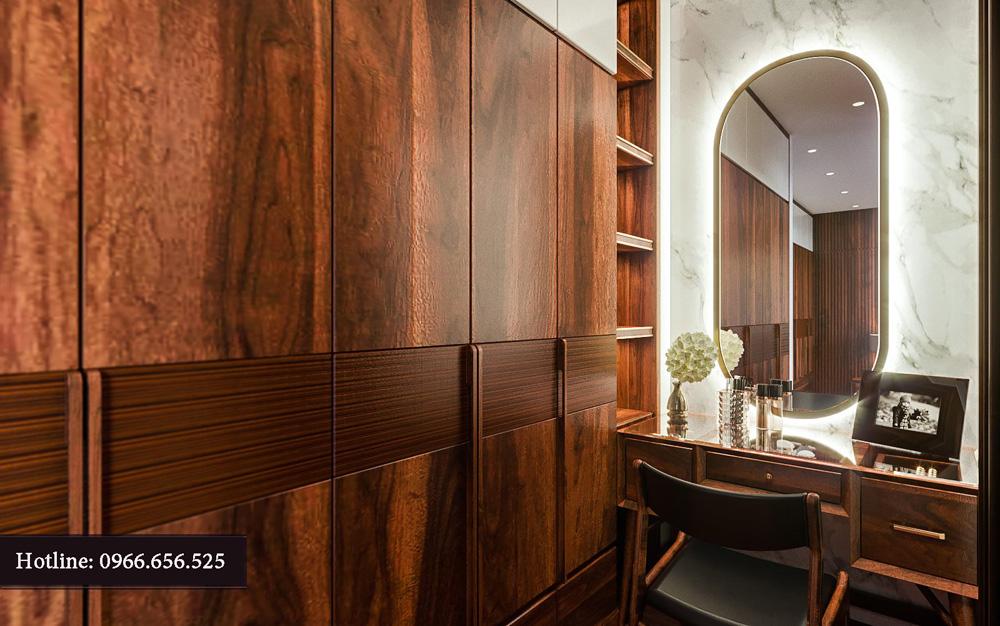 Thiết kế nội thất biệt thự liền kề cao cấp ảnh 17