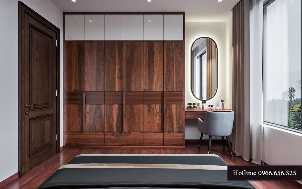 Thiết kế nội thất biệt thự liền kề cao cấp ảnh 18