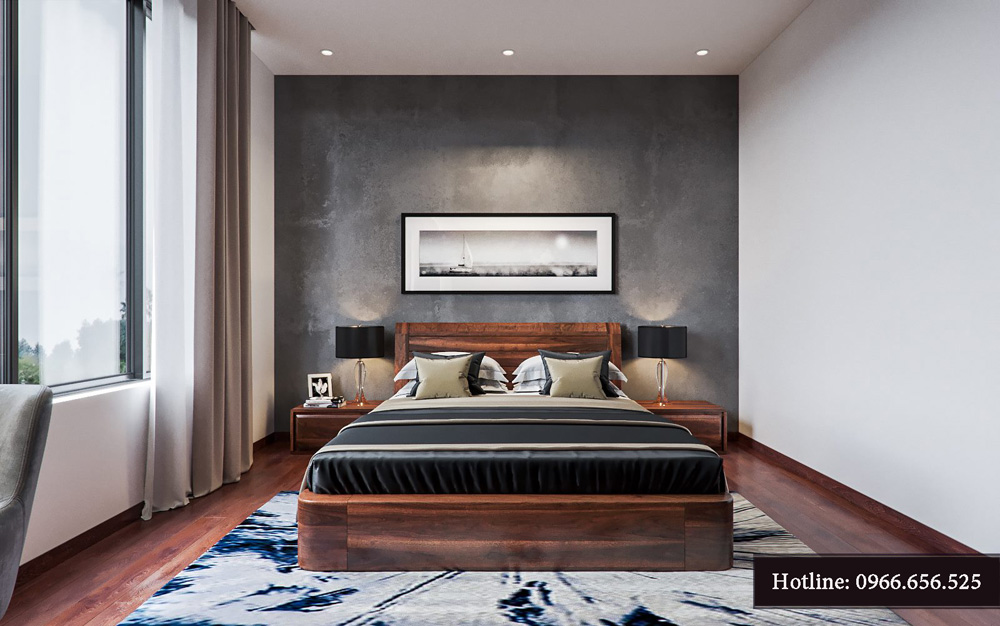Thiết kế nội thất biệt thự liền kề cao cấp ảnh 19