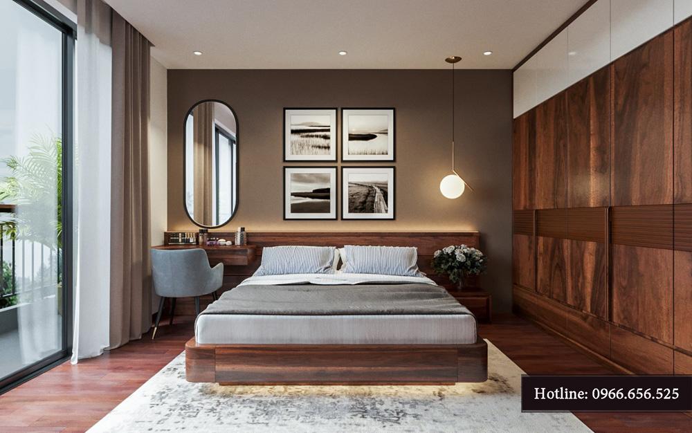 Thiết kế nội thất biệt thự liền kề cao cấp ảnh 20