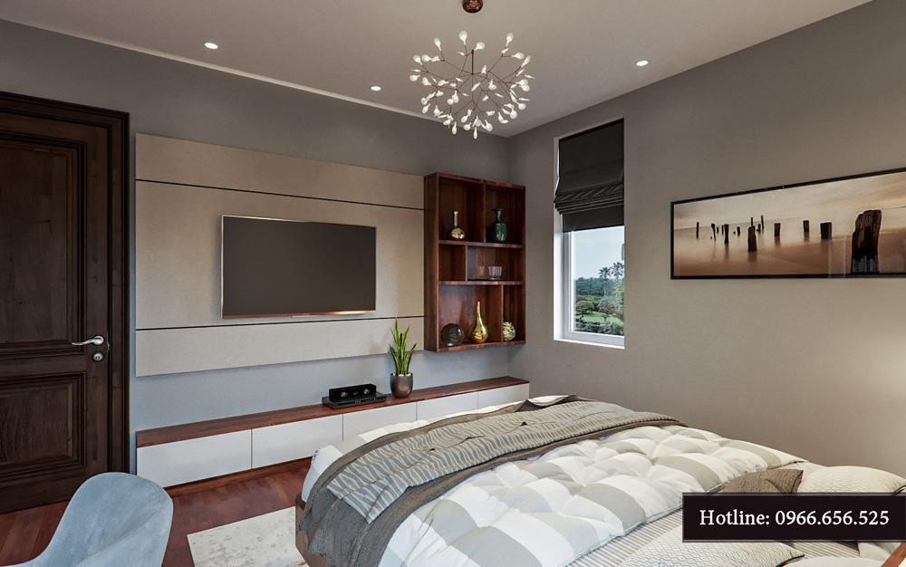 Thiết kế nội thất biệt thự liền kề cao cấp ảnh 22
