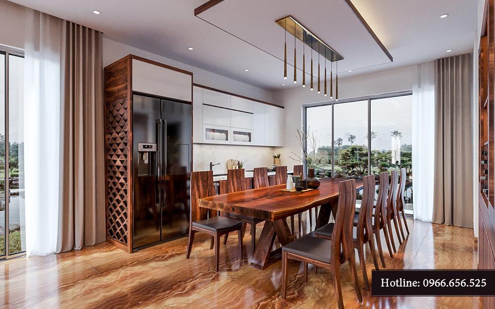 Thiết kế nội thất biệt thự liền kề cao cấp ảnh 24