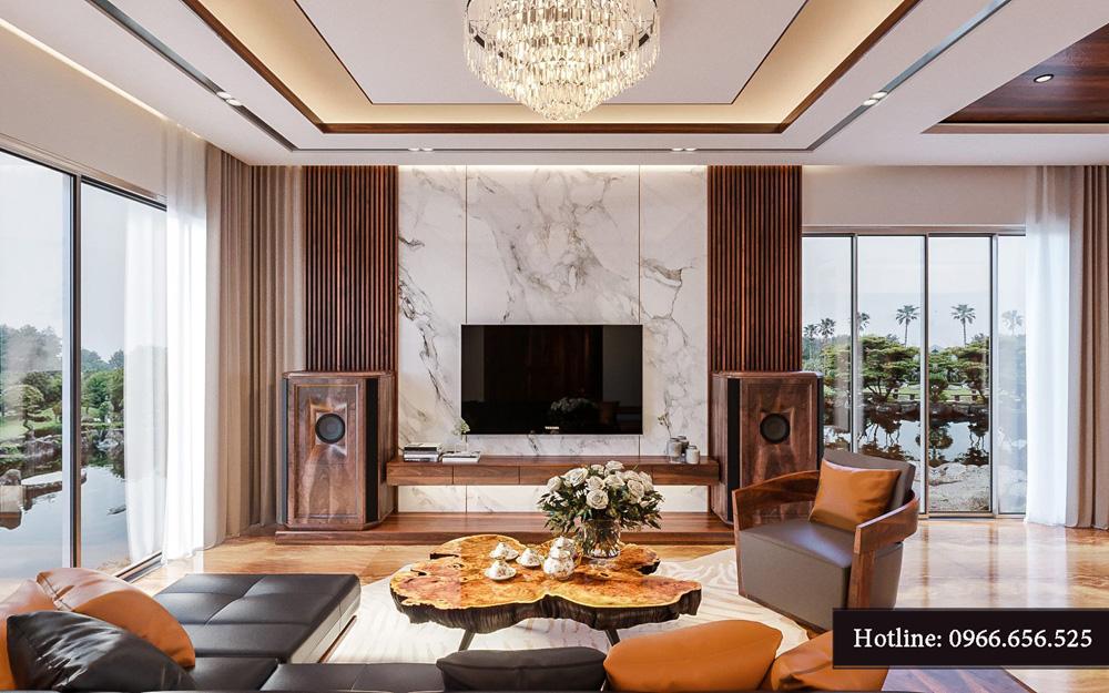 Thiết kế nội thất biệt thự liền kề cao cấp ảnh 3