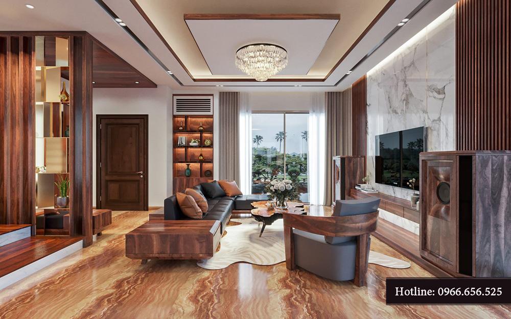 Thiết kế nội thất biệt thự liền kề cao cấp ảnh 5