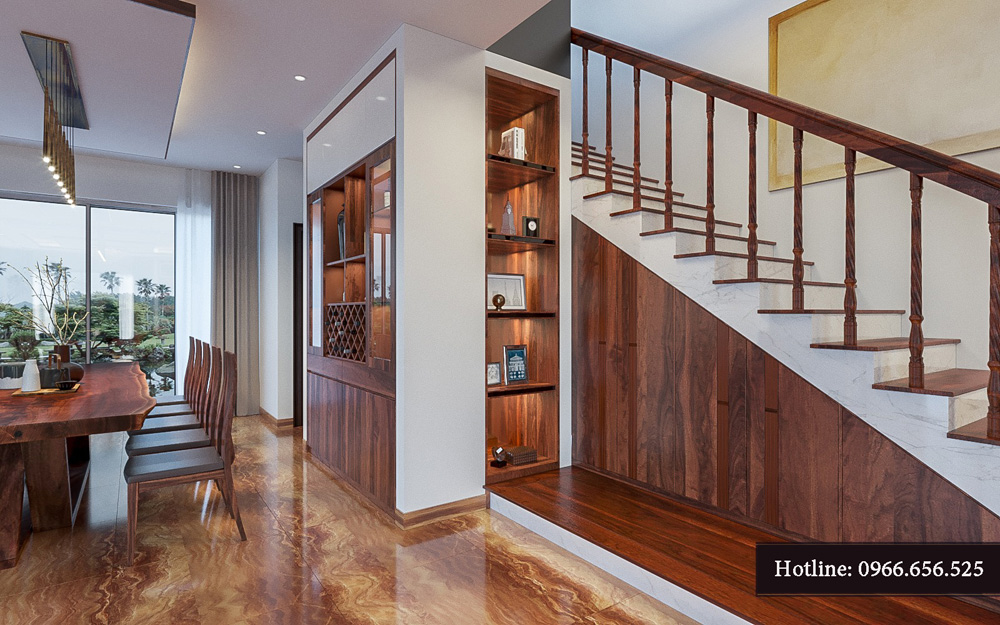 Thiết kế nội thất biệt thự liền kề cao cấp ảnh 6