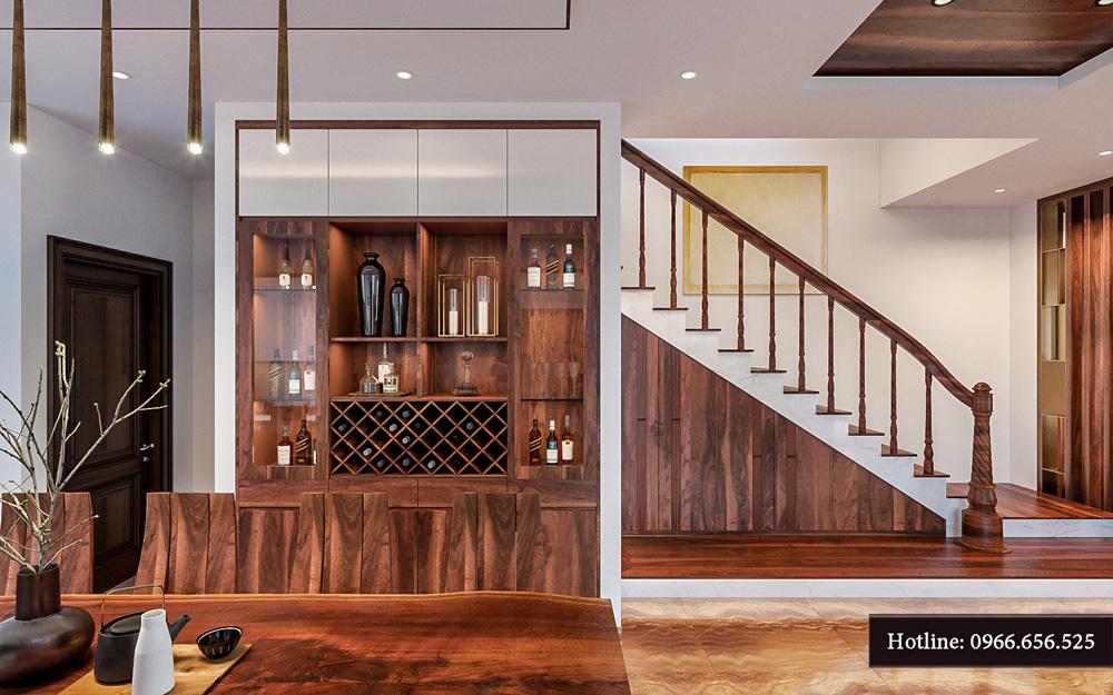 Thiết kế nội thất biệt thự liền kề cao cấp ảnh 7