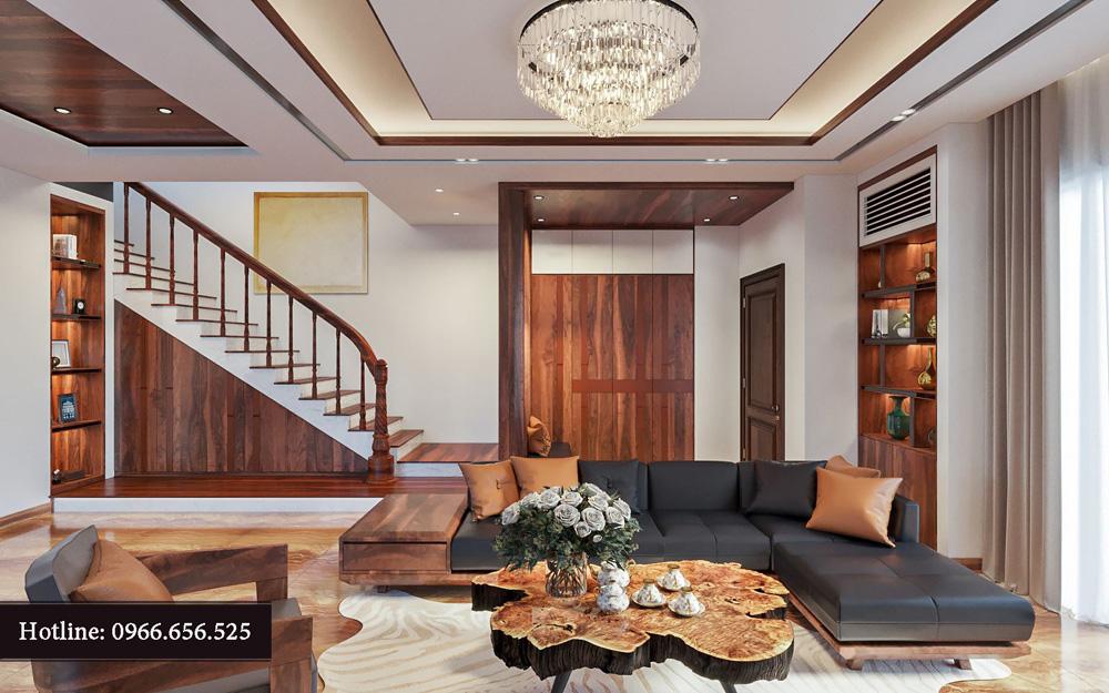 Ý tưởng thiết kế nội thất biệt thự liền kề cao cấp