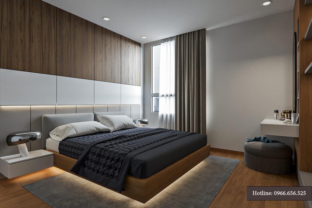 thiết kế nội thất chung cư 95m2 ảnh 11