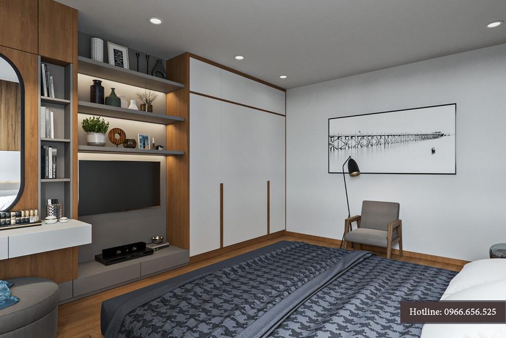 thiết kế nội thất chung cư 95m2 ảnh 12
