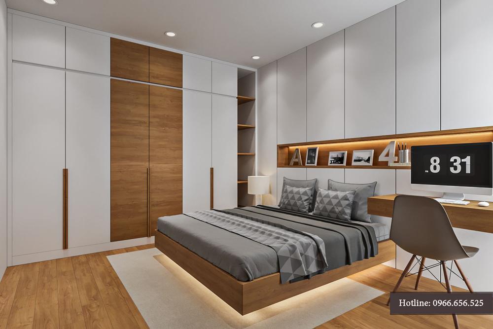 thiết kế nội thất chung cư 95m2 ảnh 13