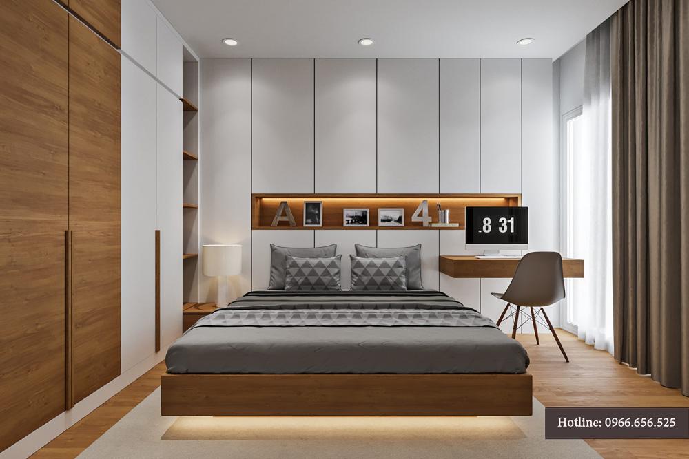 thiết kế nội thất chung cư 95m2 ảnh 14