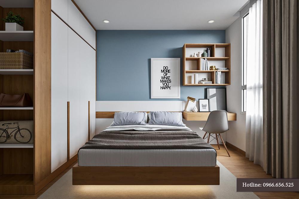 thiết kế nội thất chung cư 95m2 ảnh 15
