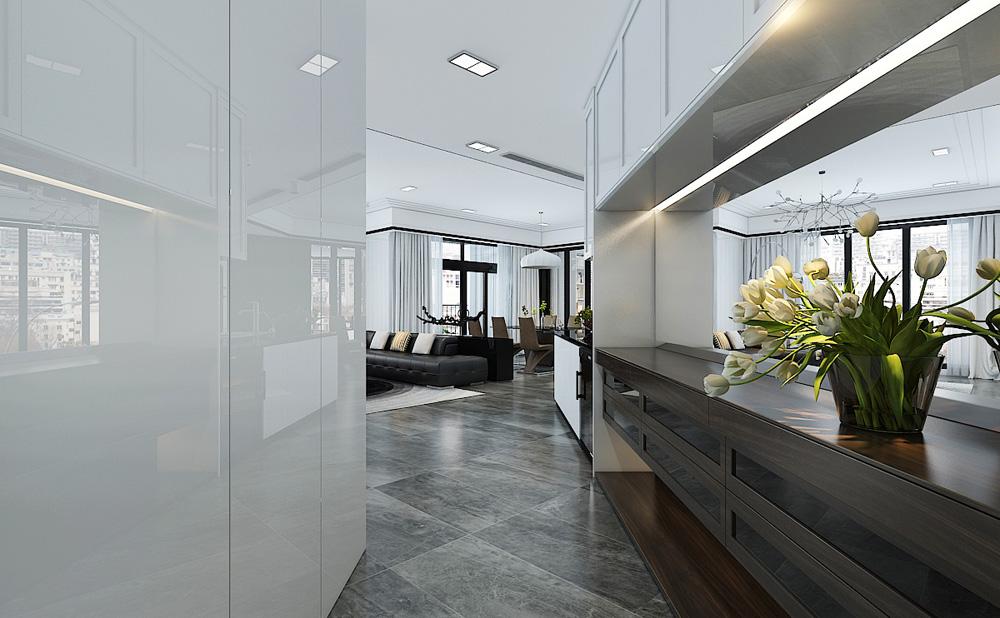Thiết kế nội thất chung cư cao cấp 100m2 đẹp 1